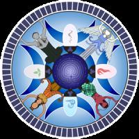 priestess healer logo
